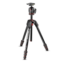 Manfrotto 190 Go! MS Carbon Fibre 4 Section Tripod Kit With XPRO Ball Head