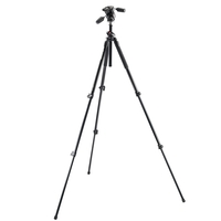 Manfrotto 190XPOL Tall 3 Section Aluminium Tripod with 804RC2 3 Way Head