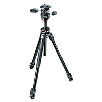Manfrotto 290 Dual Tripod c/w 804 MKII 3 Way Head