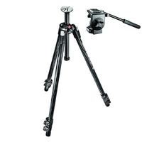 Manfrotto 290 Xtra Carbon Tripod c/w 128RC Micro Fluid Video Head
