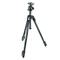 Manfrotto 290 XTRA Carbon Fibre 3 Section Tripod Kit With Ball Head
