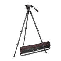 Manfrotto Nitrotech N8 Fluid Video Head & 535 Single Leg Tripod