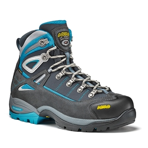 Image of Asolo Futura GTX Walking Boots (Women's) - Graphite / Blue Pea