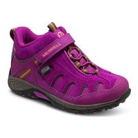 Merrell Light Tech Hike Mid A/C Waterproof Walking Boots (Youth's)