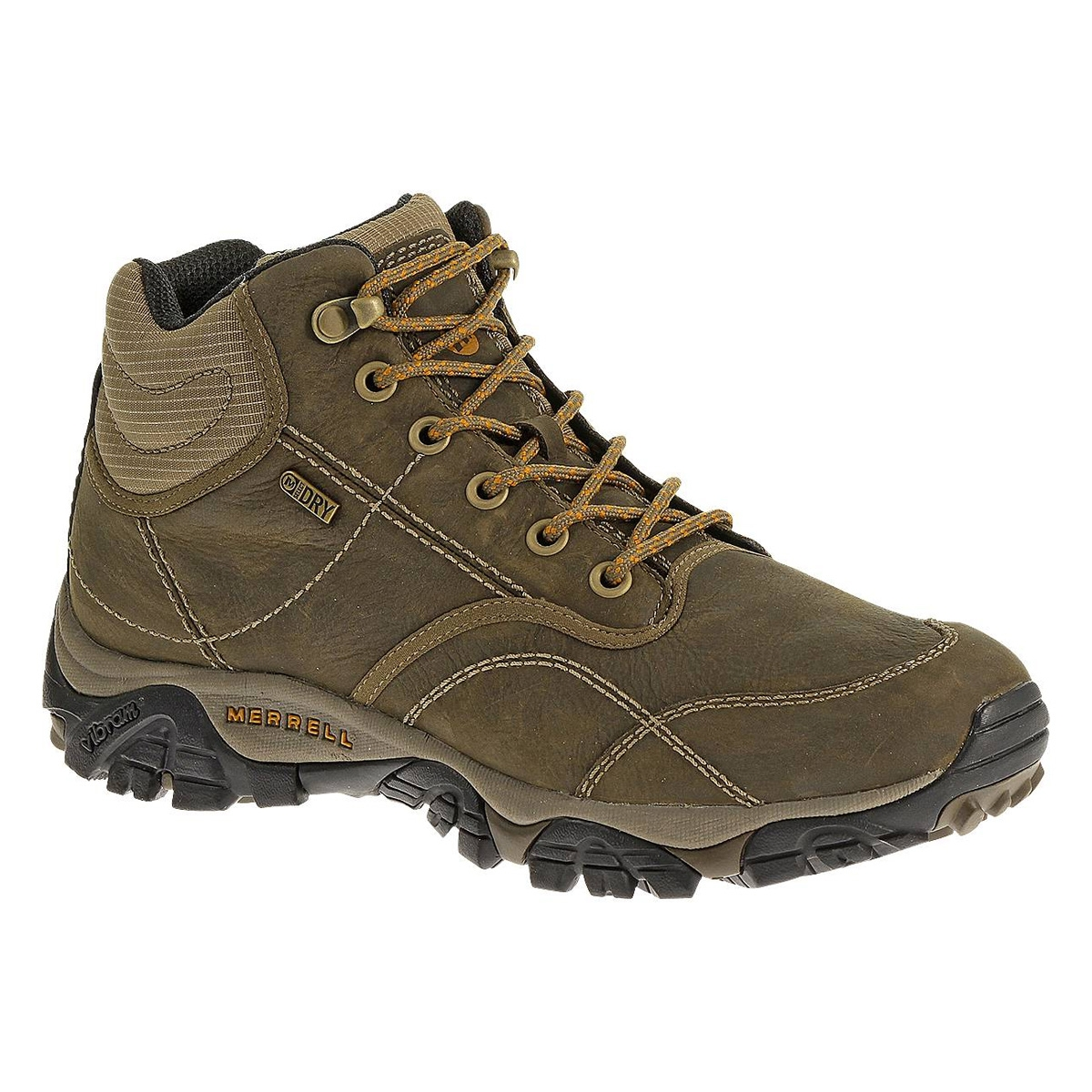Image of Merrell Moab Rover Mid Waterproof Walking Boots (Men's) - Kangaroo
