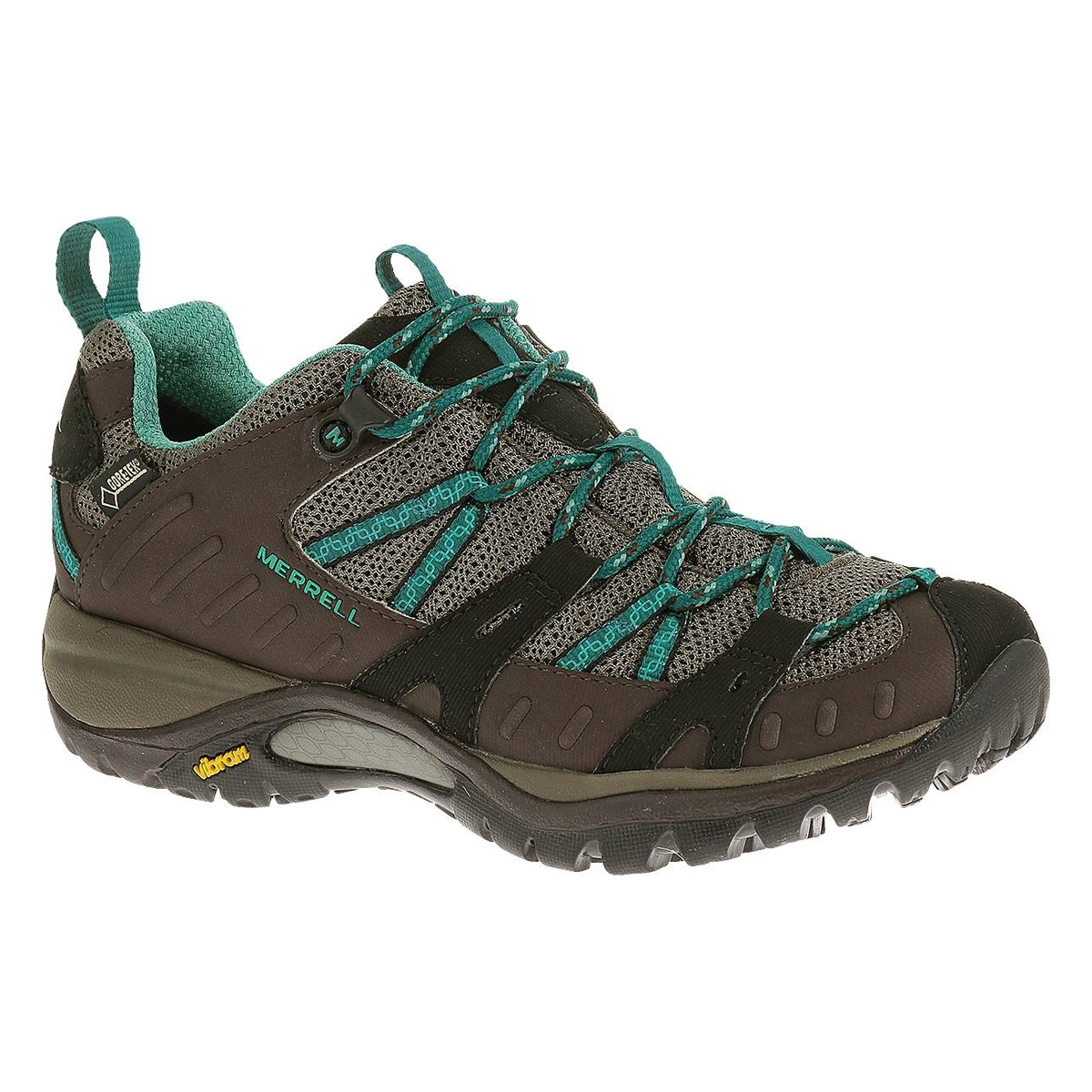 Image of Merrell Siren Sport GTX Walking Shoes (Women's) - Espresso /  Mineral
