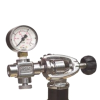 Midland Diving Equipment A-Clamp Charging System with Gauge, Bleed for Rapid7/Super10
