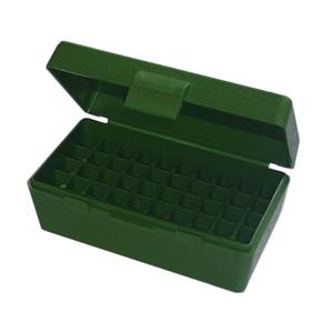 Image of MTM Case-Gard P50 .380 Ammo Box - Green