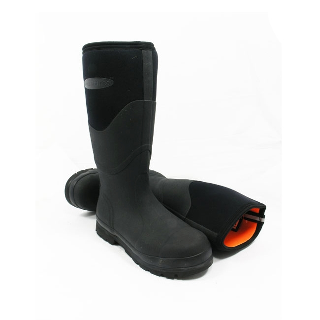 MuckBoot Co Humber Wellington Boots (Unisex) - Black | Uttings.co.uk
