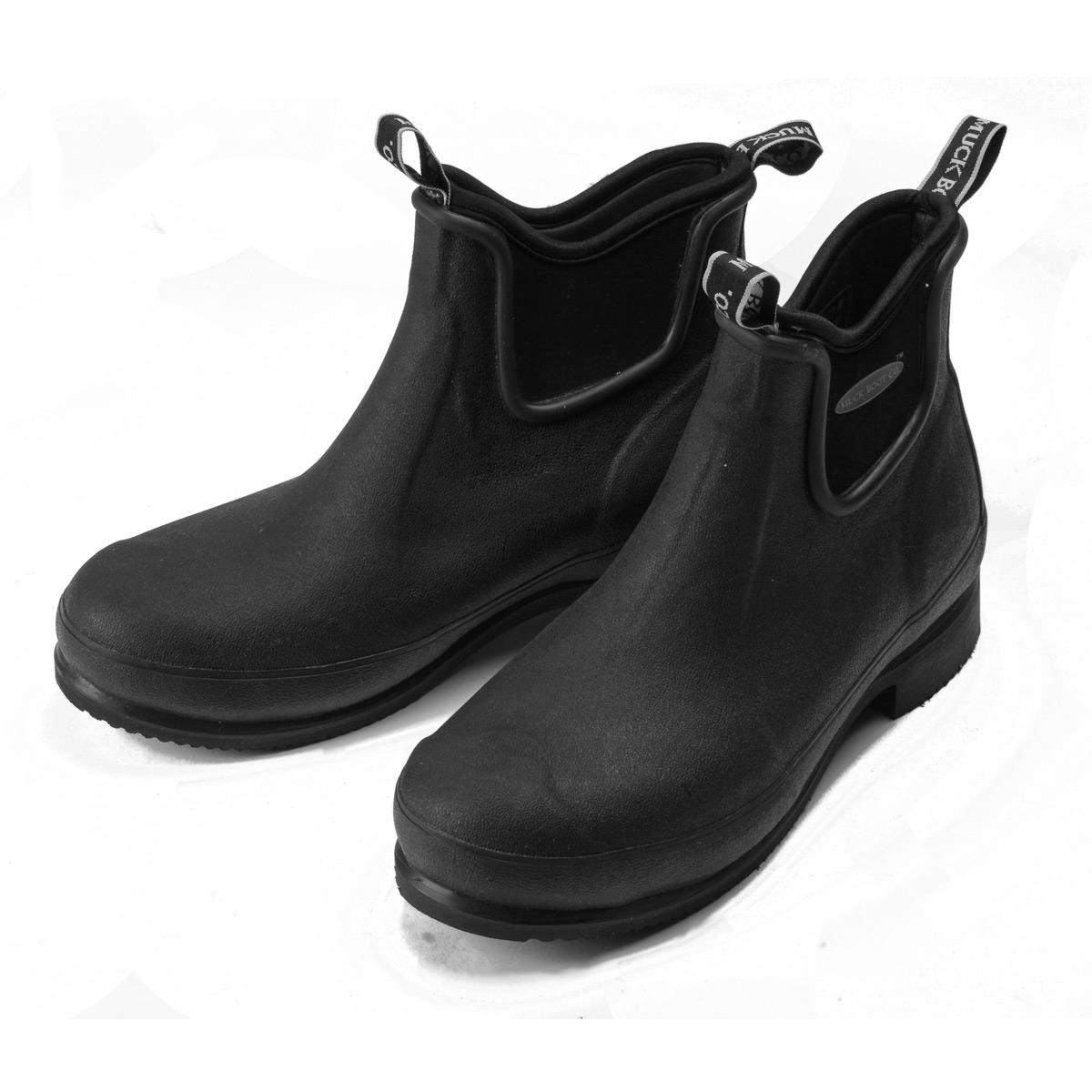 MuckBoot Co Wear Paddock Boots (Unisex) - Black | Uttings.co.uk