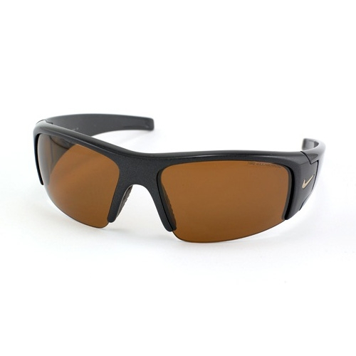 Image of Nike Diverge Men's Sunglasses - Amber/Brown Lens inc. Pouch