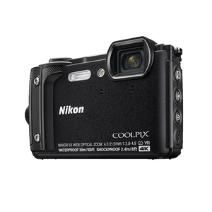 Image of Nikon Coolpix W300 16MP Waterproof Camera - Black