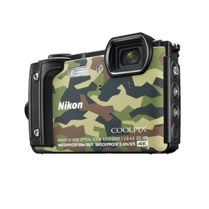 Image of Nikon Coolpix W300 16MP Waterproof Camera - Camo