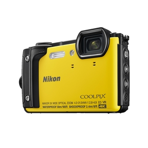 Image of Nikon Coolpix W300 16MP Waterproof Camera - Yellow