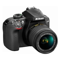 Nikon D3400 SLR Camera With AF-P 18-55MM VR Lens