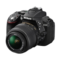 Nikon D5300 24.2MP SLR Camera with 18-55mm VR AF-P Lens