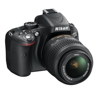 Nikon D5600 SLR Camera With AF-P 18-55mm VR Lens