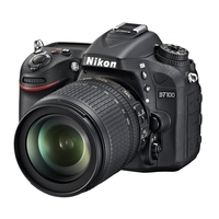 Nikon D7100 24.1MP SLR Camera with 18-105mm VR Lens