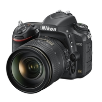 Nikon D750 24.3MP DSLR Camera with 24-120mm f4 G AF-S ED VR Lens Kit