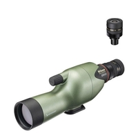 Nikon Fieldscope ED50 Straight Spotting Scope, 13-40x MKII Eyepiece