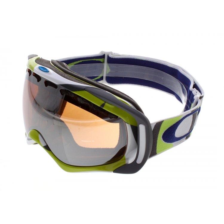 87acb4562cd7 Oakley Crowbar Goggles Snow Ski Jet Black Fire « Heritage Malta