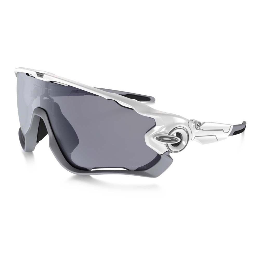 asnmb Oakley Jawbreaker Men\'s Polarized Sunglasses - Polished White