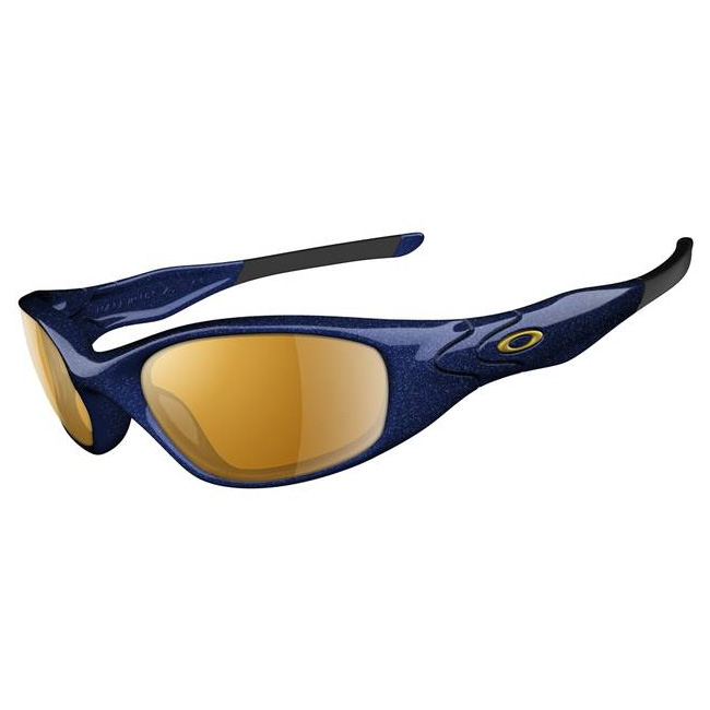 oakley minute blue sunglasses  image of oakley minute 2.0 sunglasses midnight blue (frame) / gold iridium (