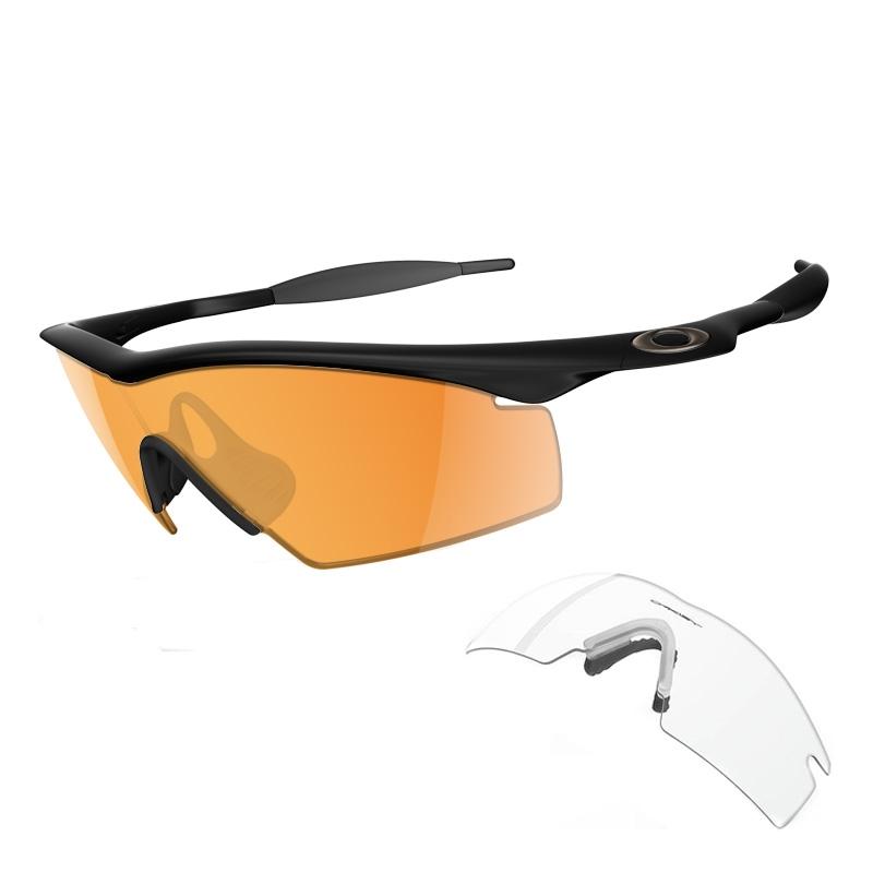 Oakley New M-Frame Custom Mens Shooting Glasses - Jet ...