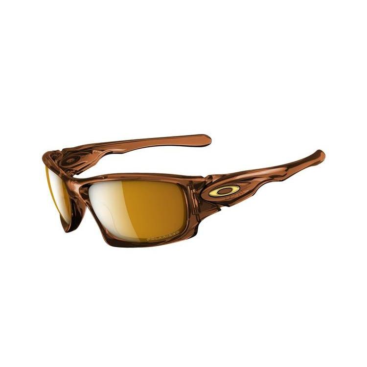 óculos Oakley Plaintiff Brown Chrome Bronze Polarized   Louisiana ... 0923fe9652