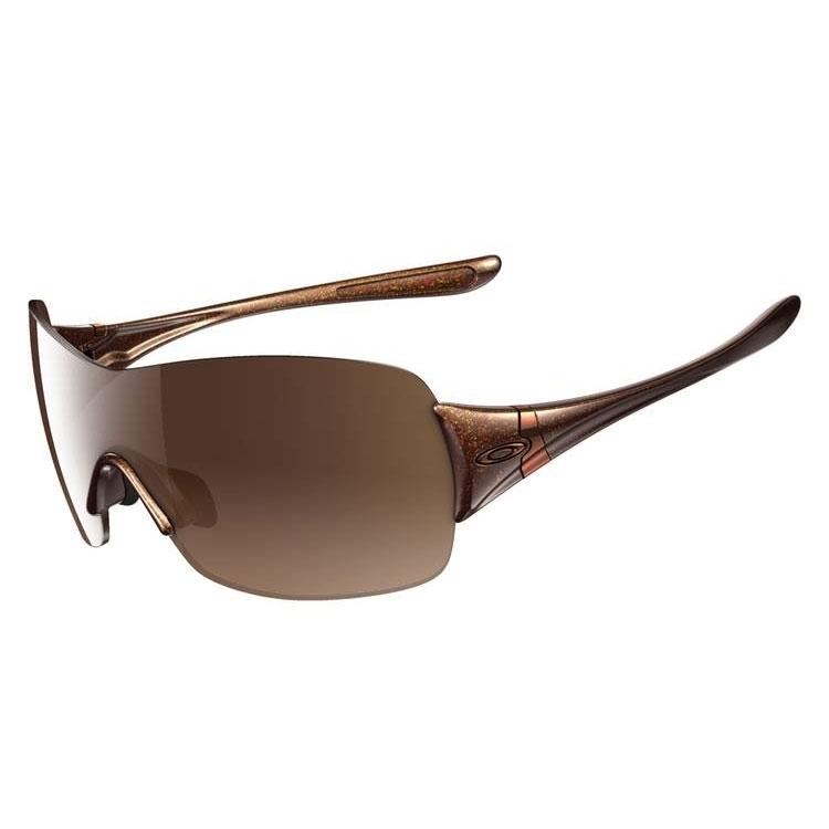 e12f58875f Oakley Miss Conduct Squared Polarised Polished Black Sunglasses ...