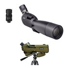 Opticron ES 80 GA ED/45 v4 Angled Spotting Scope With 20-60x SDL v2 Eyepiece And Stay On Case