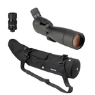 Opticron ES 80 GA ED Angled Spotting Scope Bundle with SDLv2 20-60x Eyepiece and Stay on Case
