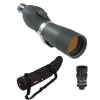 Opticron GS 665 GA Straight Spotting Scope Kit with HDF 16-48x Eyepiece and Stay On Case