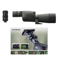 Opticron HR 66 GA ED Straight Spotting Scope with SDL V2 18-54x Eyepiece and Free VG-180 SDL DCC Digiscoping Kit