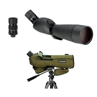 Opticron HR 80 GA ED Angled Spotting Scope with SDL V2 24-72x Eyepiece and Free Stay On Case
