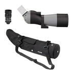 Opticron IS 60 ED WP Angled Spotting Scope Bundle with IS 16-48x HR2 Eyepiece and Waterproof Case