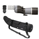 Opticron IS 60 ED WP Straight Spotting Scope Bundle with IS 16-48x HR2 Eyepiece and Waterproof Case