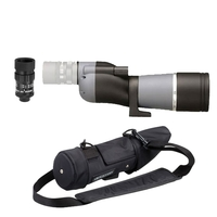 Opticron IS 60 WP ED Straight Spotting Scope with HDF 15-45x Eyepiece & Waterproof Case