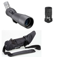 Opticron IS 70 R Angled Spotting Scope with 20-60x Eyepiece and Stay on Case
