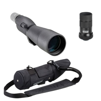 Opticron IS 70 R Straight Spotting Scope with 20-60x Eyepiece and Stay on Case