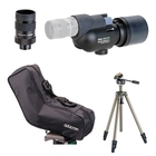 Opticron MM2 52 Straight Spotting Scope, HR MM2 Eyepiece 13-39x, Soft Case with Velbon Sherpa 200R Tripod