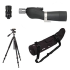 Opticron Spotting GS 665 GA ED Straight Scope, SDL Eyepiece 16-48x, Stay-On Case with Free XFS-C Traveller Tripod with PH157QK Head