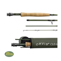 Orvis 4 Piece Clearwater Fly Rod - 7ft 6in