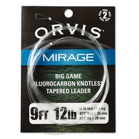 Orvis Mirage Big Game Leader - 2 Pack - 9ft