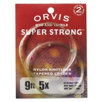 Orvis Super Strong Nylon Leaders - Pack of 2
