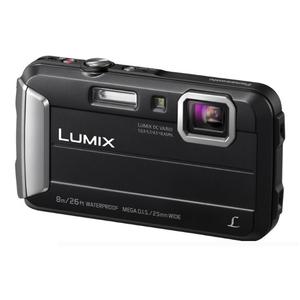 Image of Panasonic Lumix DMC-FT30 Waterproof Camera - Black