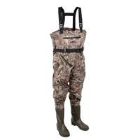 Prologic Nylo-Stretch Cleated Sole Bootfoot Chest Waders