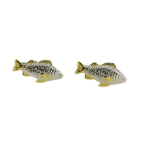 Range Right Cufflinks - Carp