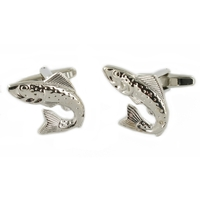 Range Right Cufflinks - Fish