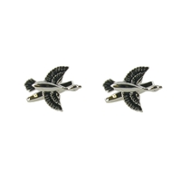 Range Right Cufflinks - Flying Ducks